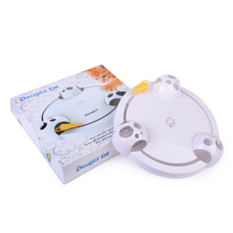 Interactive Mouse Pounce Cat Toy - ChoiceBird