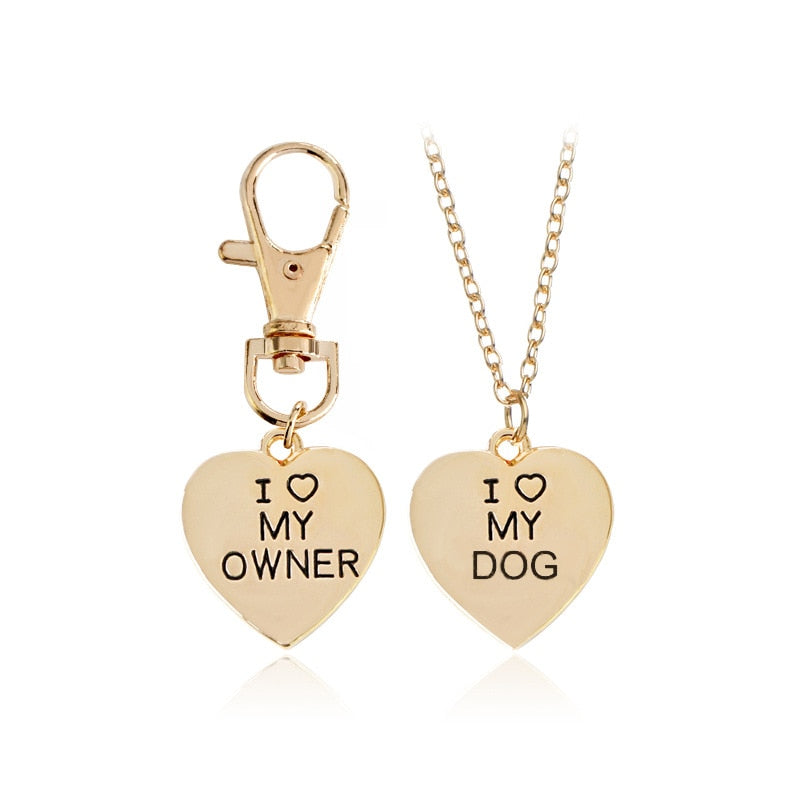 Dog and Dog Owner Pendant{VIP Gift}