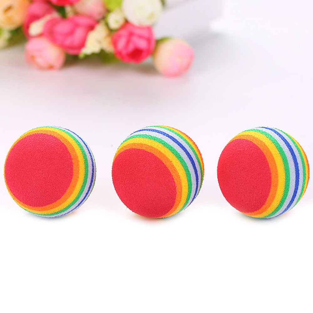 Rainbow Toy Ball