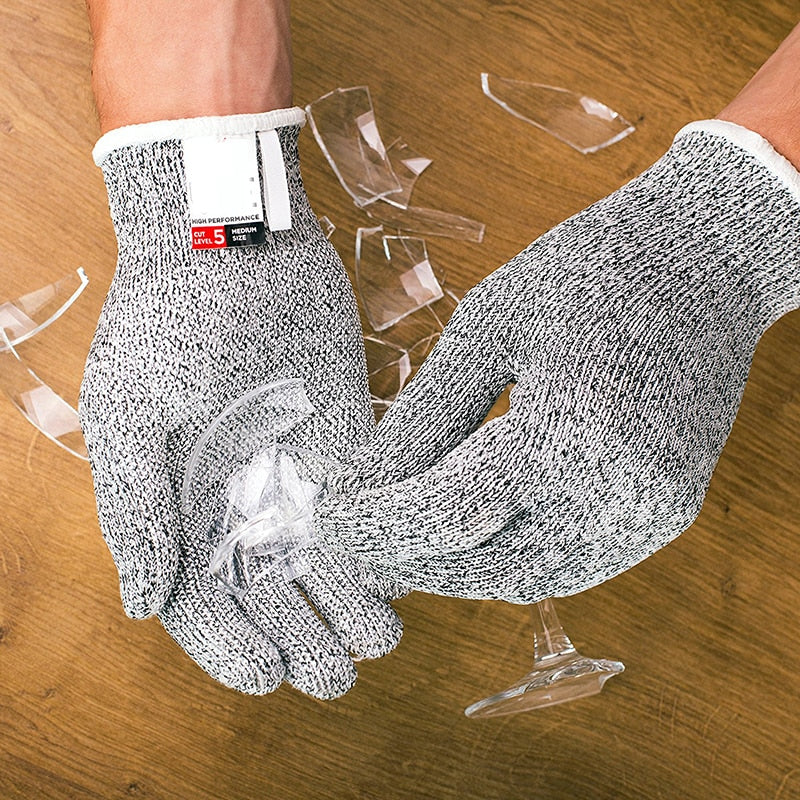Anti Cut Safety Gloves - ChoiceBird