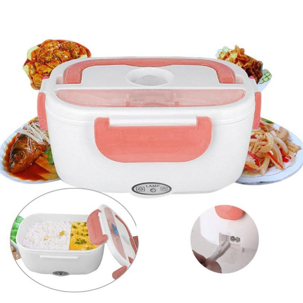 The Electric Lunch Box: Hot Delicious Food, Anytime Anywhere
