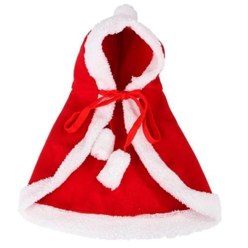 Stylish Premium Christmas Hooded Coat For Cat - ChoiceBird