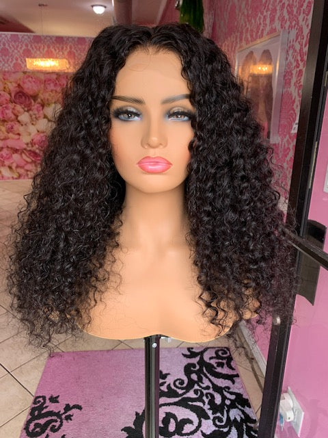 HD Full Lace Unit - Brazilian Mink Curly