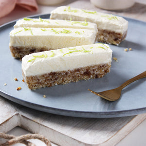 No-bake Coconut & Lime slice