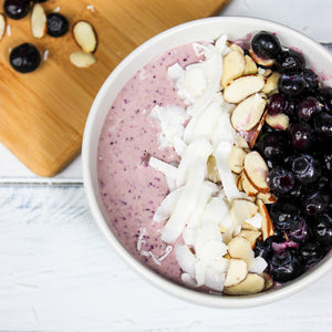 Blueberry Protein Smoothie Bowl