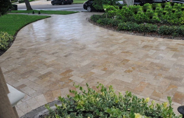 Pros and Cons of Sealing Travertine Pavers
