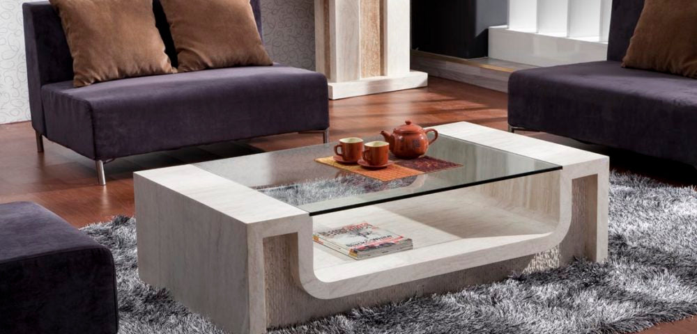 Travertine Coffee Table Design, Style Ideas and tips