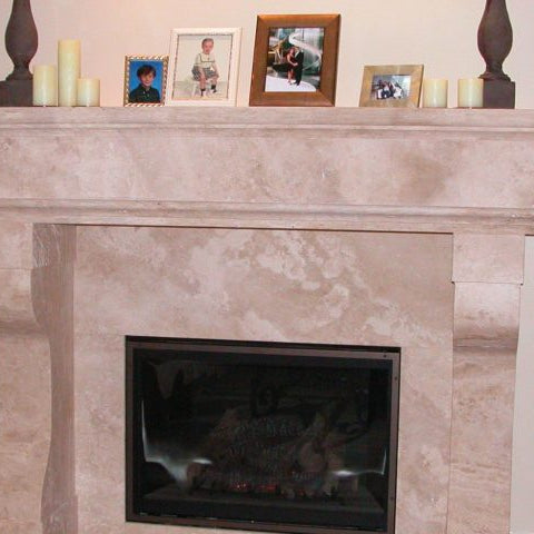Travertine fireplace definition, Design ideas and tile types