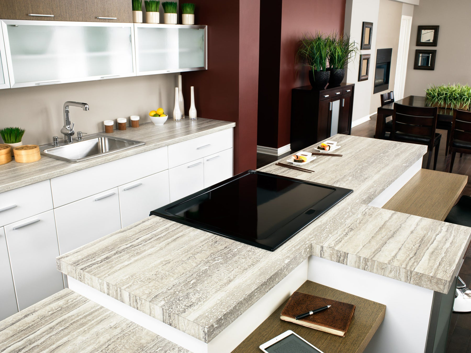 Travertine Countertops: Design Ideas, Pros & Cons and Cost