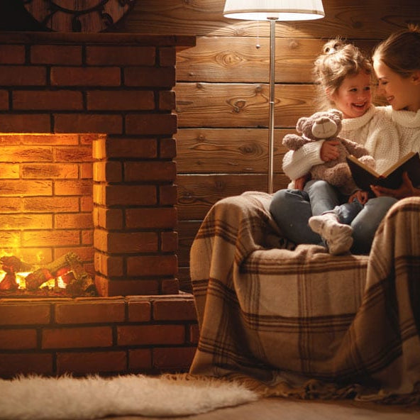 Fireplace Tiles: Types and Designs