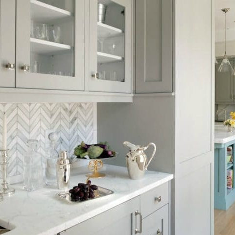 Marble Backsplash Usage and Design Ideas