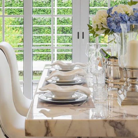 Marble Dining Table Designs, Pros And Cons, Costs And Tips