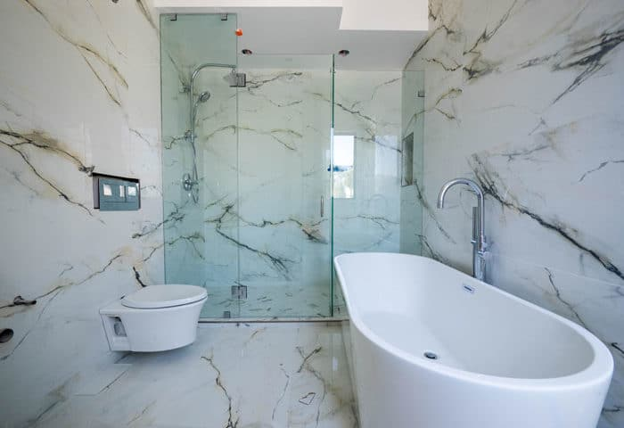 Marble Shower Walls Types Finishes Design Ideas Pros And Cons