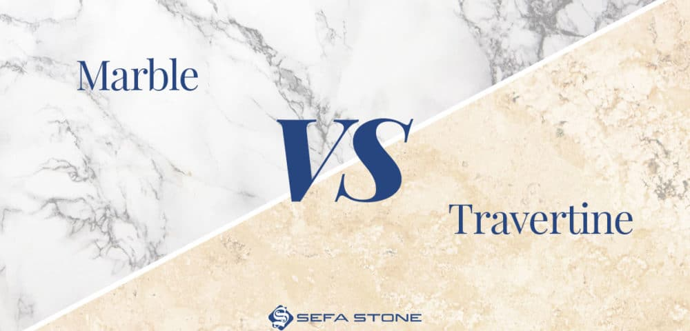 Travertine vs Marble Comparison Guide –  What is the Difference?