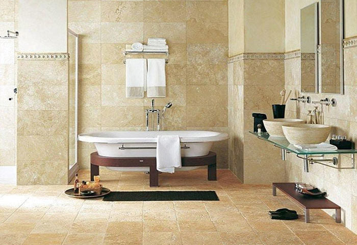 Why Should You Use Travertine in Your Bathroom?