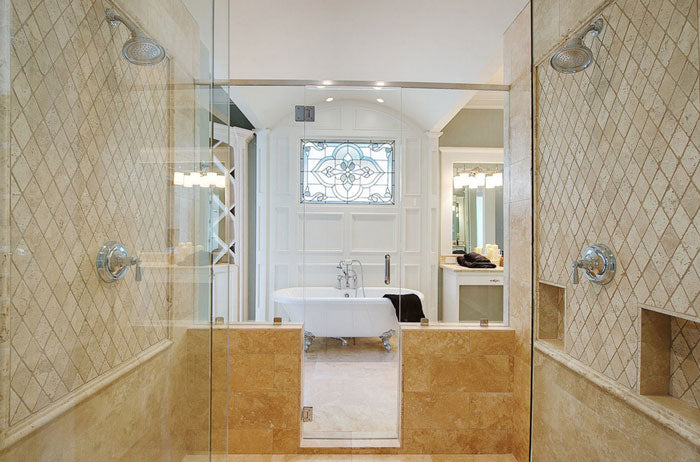 Travertine Mosaic Tile: Types, Maintenance, Pros & Cons and Design Ideas
