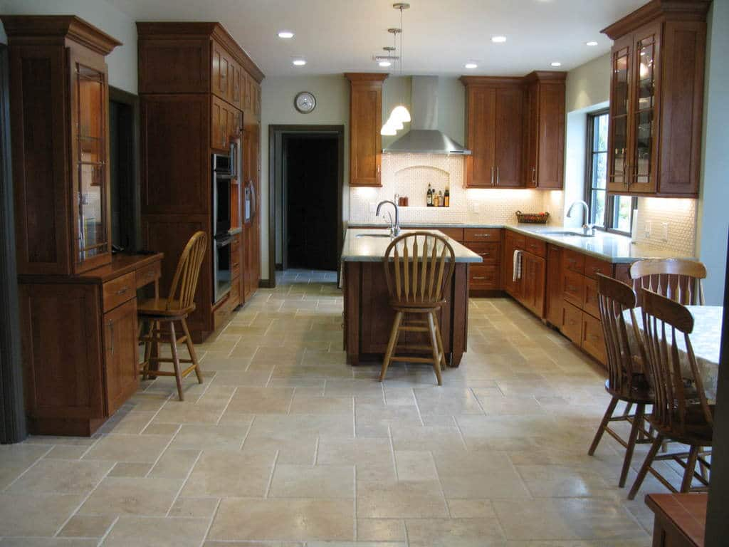 Travertine Kitchen Floor Design Ideas, Cost and Tips — Sefa ...