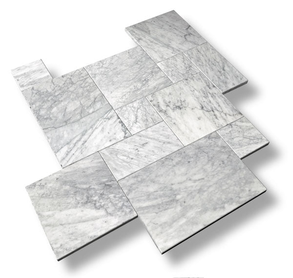 Carrara Marble Pavers
