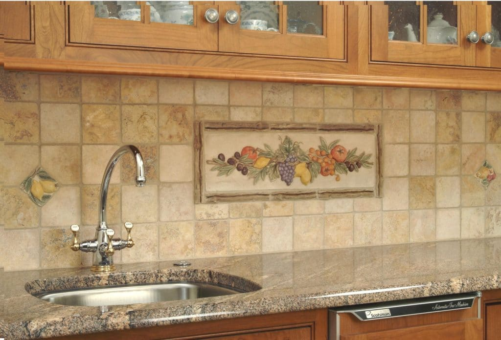Travertine Backsplash Usage Design Ideas And Tips Sefa Stone Miami