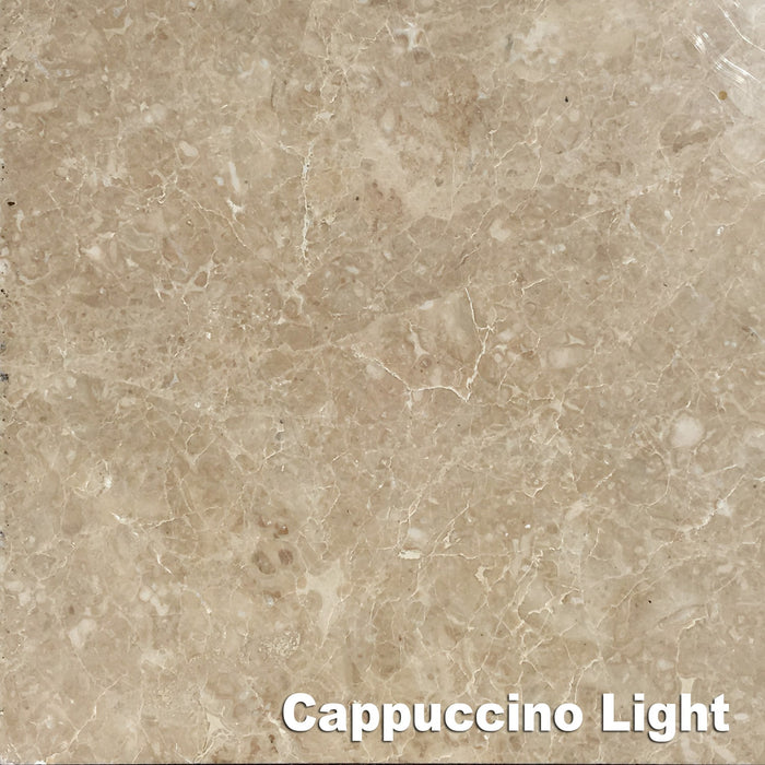 Cappuccino Light Marble Tile