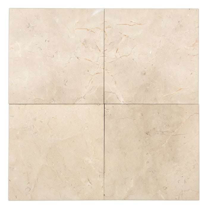 Crema Marfil Marble Tiles 18x18