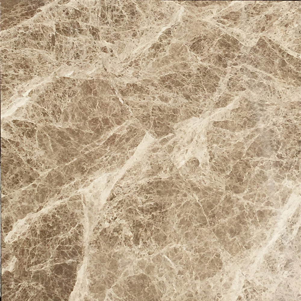 Emperador Light Marble Tiles 12x12