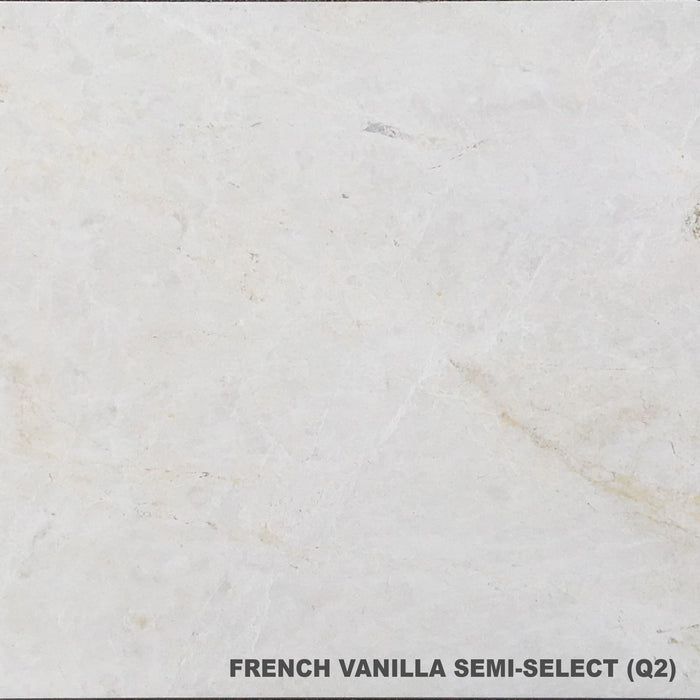 French Vanilla Semi-Select Marble Tiles