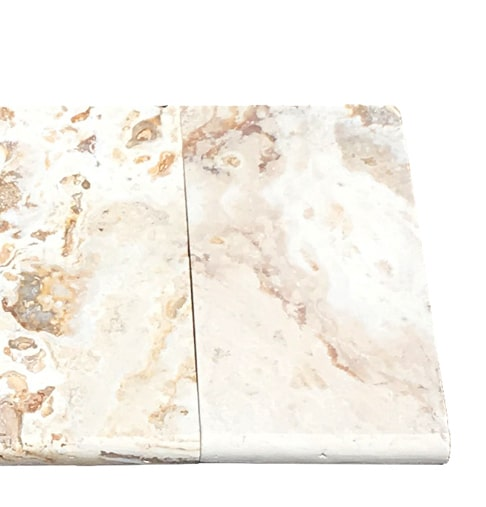 Leonardo Travertine Bullnose Coping