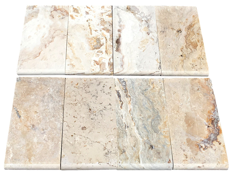 Leonardo Travertine Bullnose