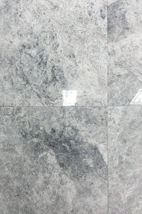 Silver Marble Tiles 24x24