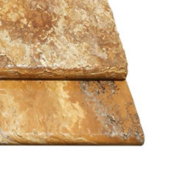 Gold Travertine Bullnose