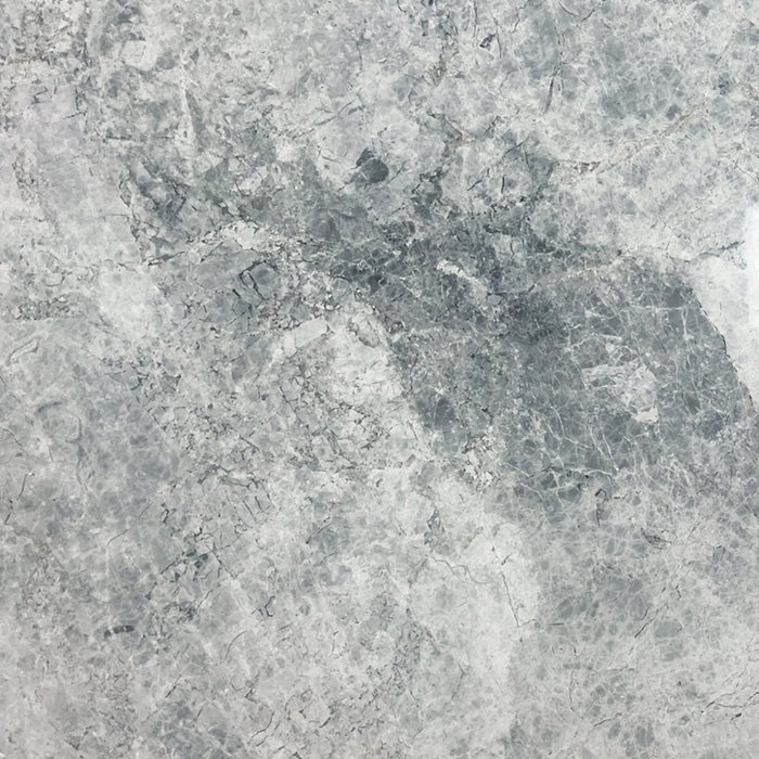 Silver Marble Tile Polished