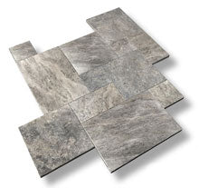 sefastone silver travertine pavers