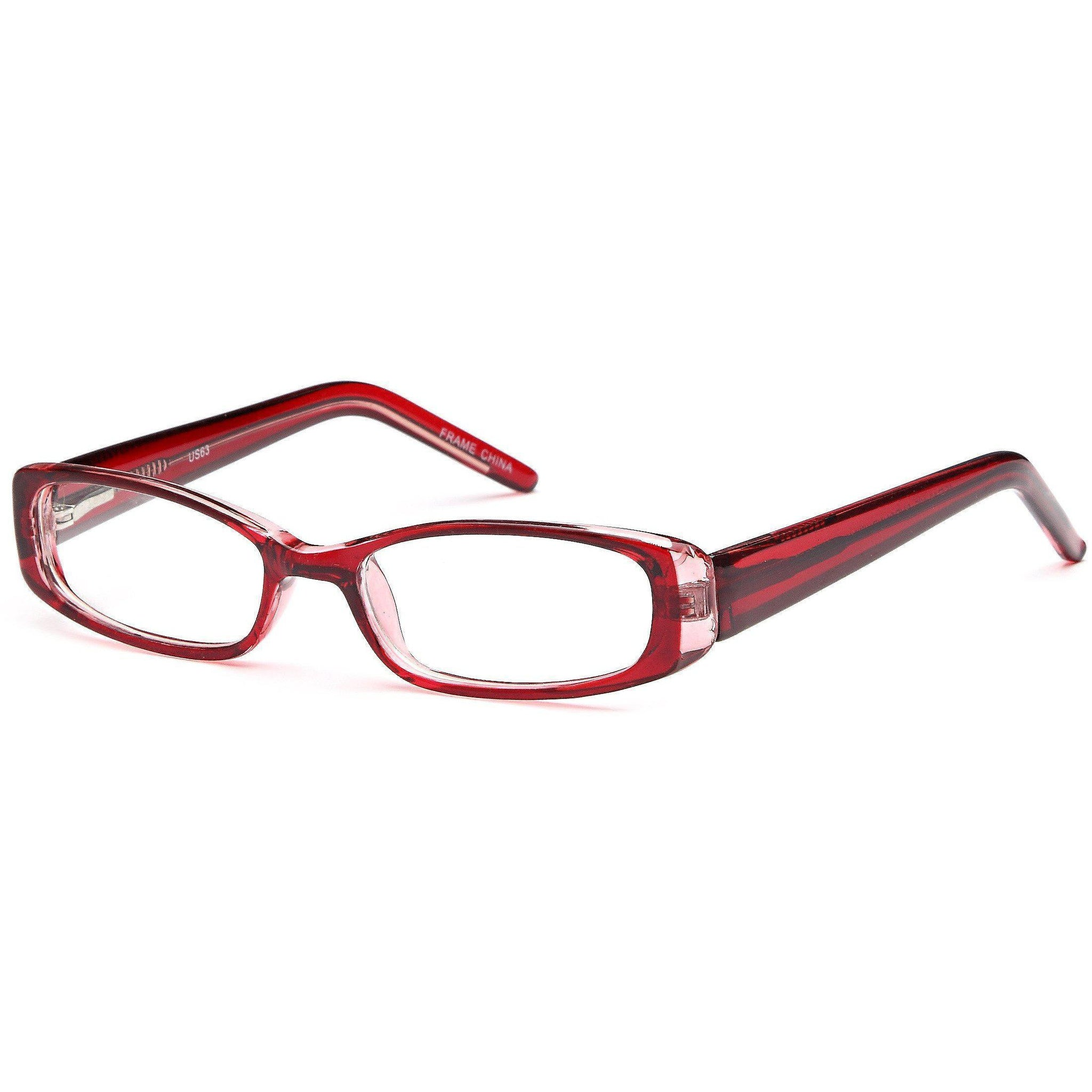 4U Prescription Glasses US 63 Optical Eyeglasses Frame - timetoshade
