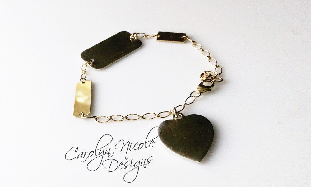 Charm Bracelet by Carolyn Nicole Designs