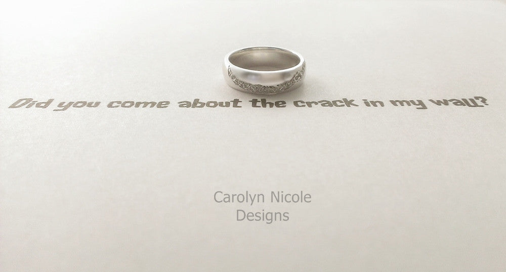 Doctor Who Crack in the Universe Ring by Carolyn Nicole Designs