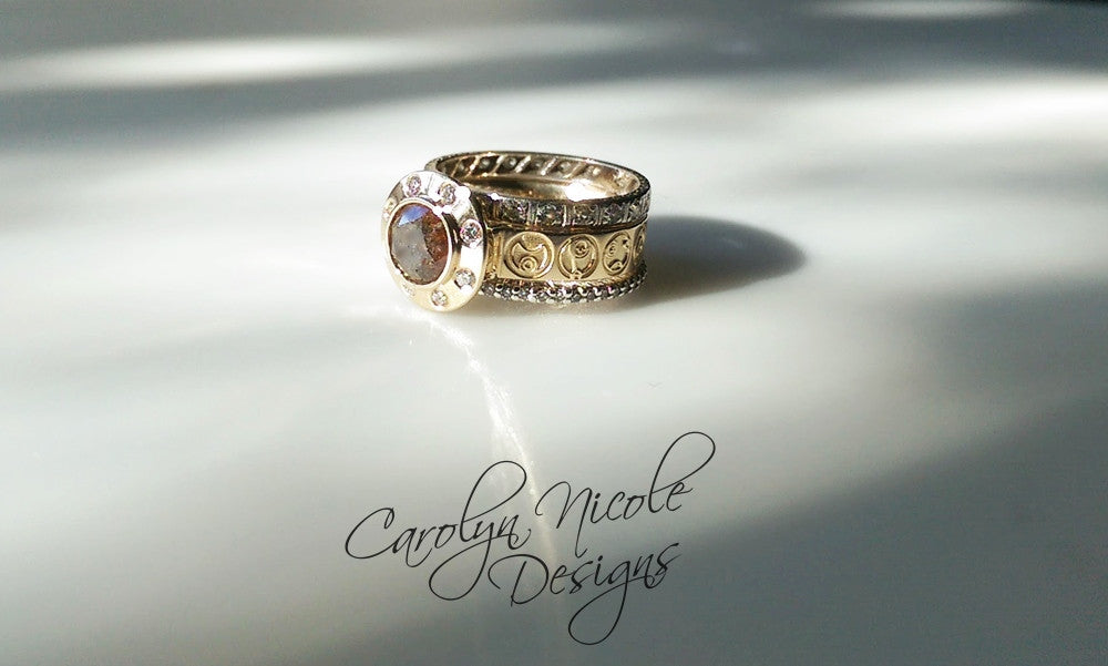 Doctor Who Engagement Ring by Carolyn Nicole Designs