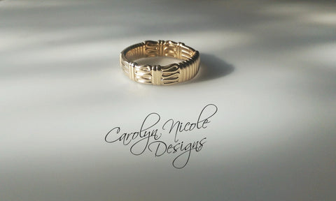 President's  Wedding Ring by Carolyn Nicole Designs