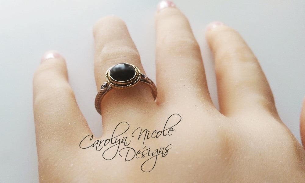 Snake Ring by Carolyn Nicole Designs