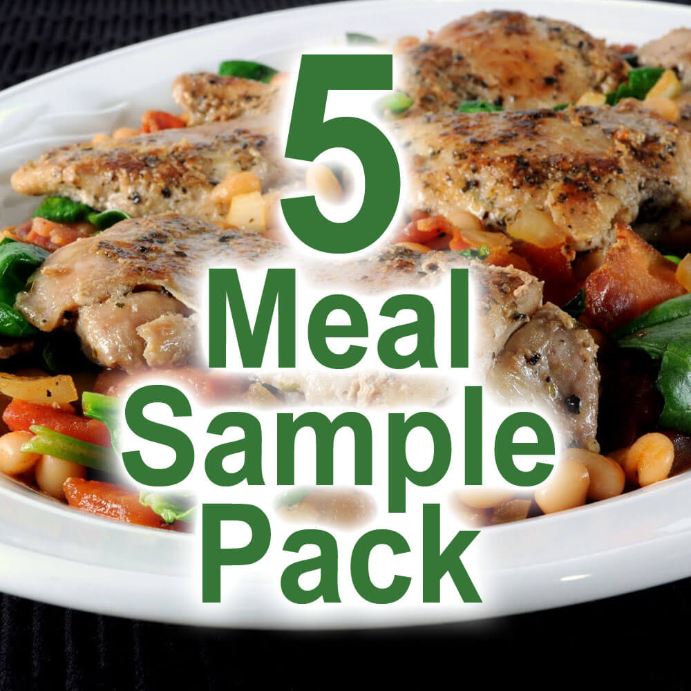 5 Meal Sample Pack (400g)