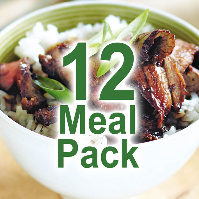 6 day, Lunch & Dinner Meal Pack (Male/400g)