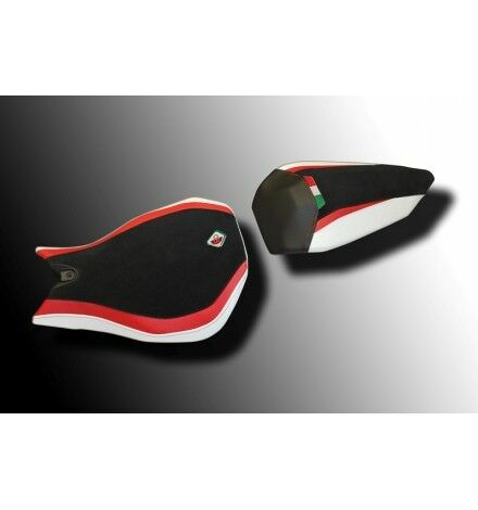 DUCABIKE for Ducati Panigale 899/1199 Seat Cover Black-Red-White CS119901DAW