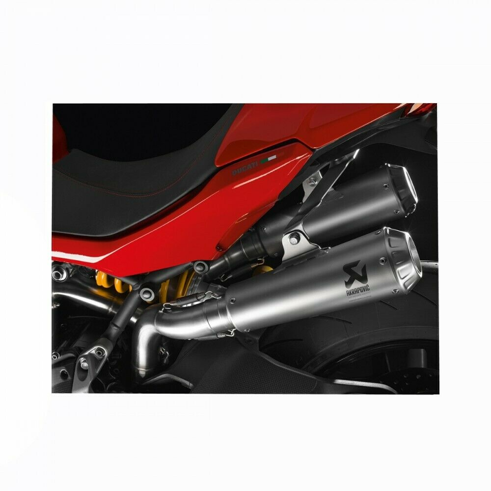 Ducati Supersport Full Exhaust 96481181A by AKRAPOVIC