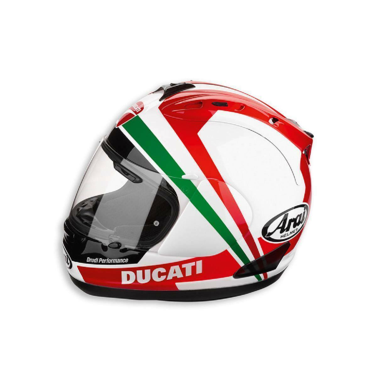 NEW Ducati Tricolore '12 Arai Corse V Helmet 981018496 USD,EURO,STERLINGS NEW