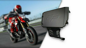 Evotech Performance Radiator Guard & Engine Guard Set 2013-2015 Hypermotard