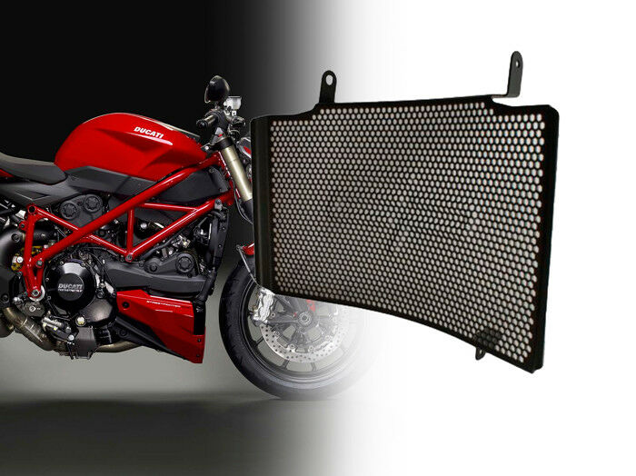 DUCATI 848 UPPER RADIATOR GUARD BUN000242 EVOTECH-PERFORMANCE UK