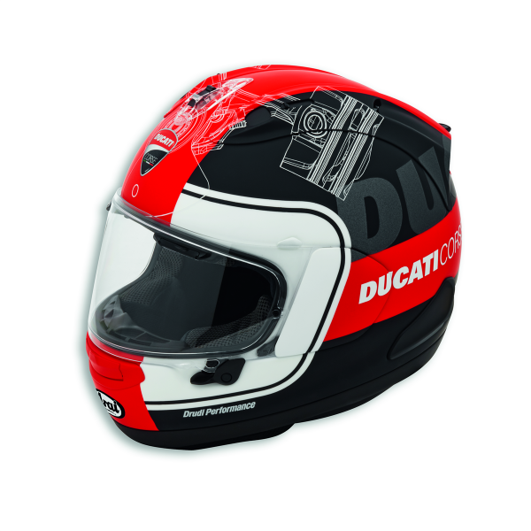 Ducati Corse V3 Helmet by Arai 98104701 Ducati Performance Original New 2019