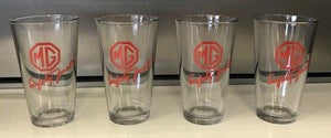 Genuine New MG Beer Glass Set of 4