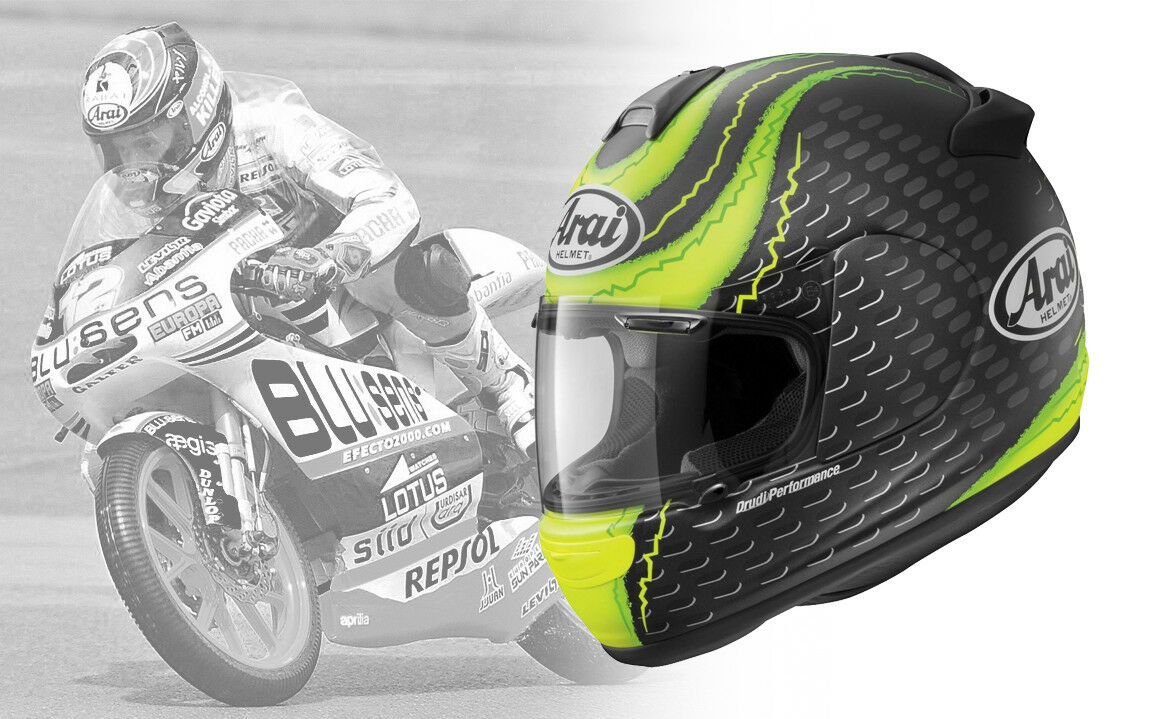 ARAI HELMET Crutchlow Frost Vector-2  Part # 09-8486 / Size Large all sizes avai