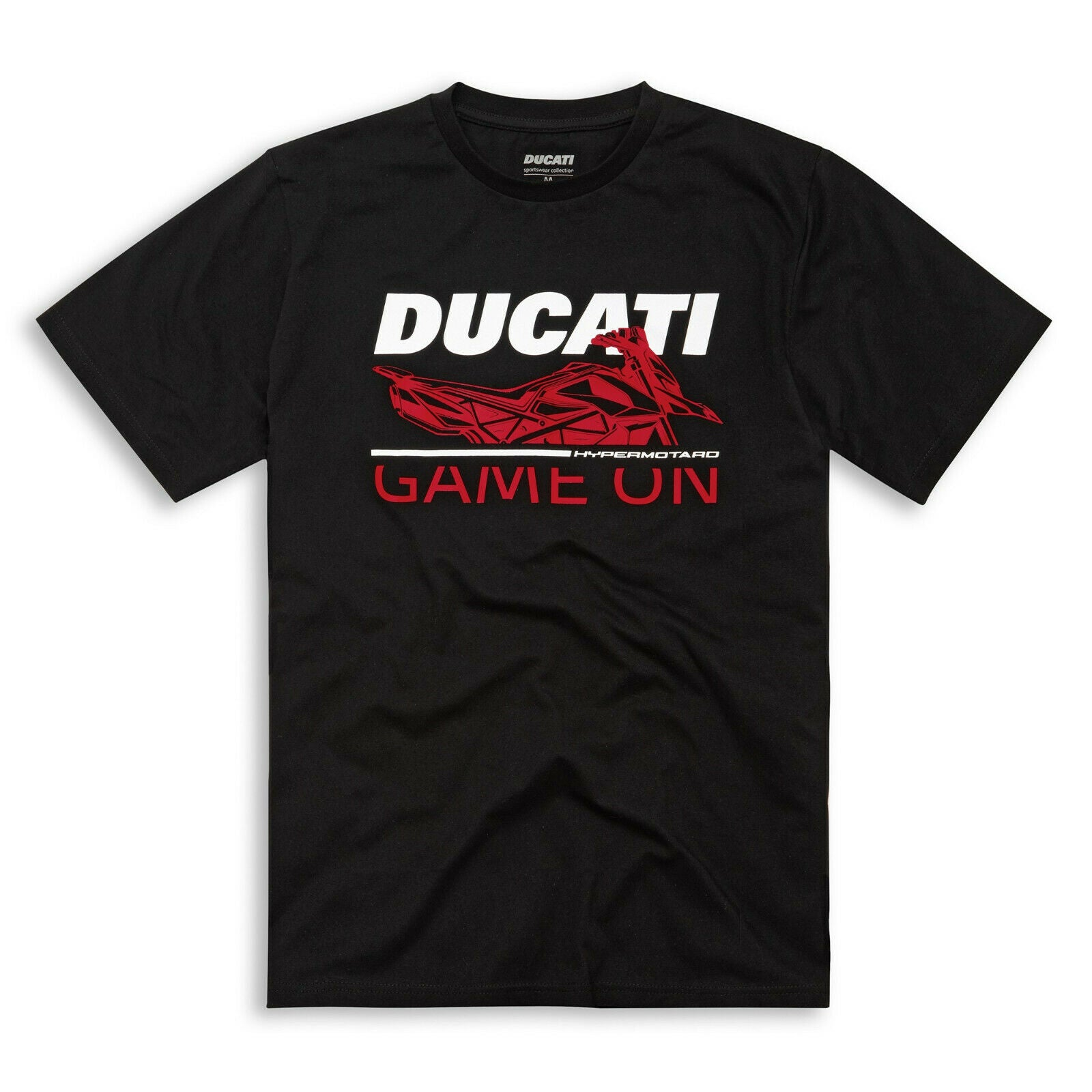 Ducati Game on Black T-shirt 98770092